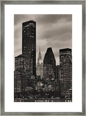 Its Relative  Framed Print by JC Findley