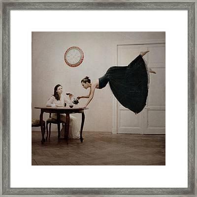 It's Tea Time Framed Print by Anka Zhuravleva