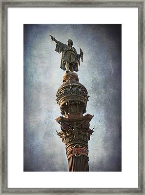 Its That Way Framed Print by Joan Carroll