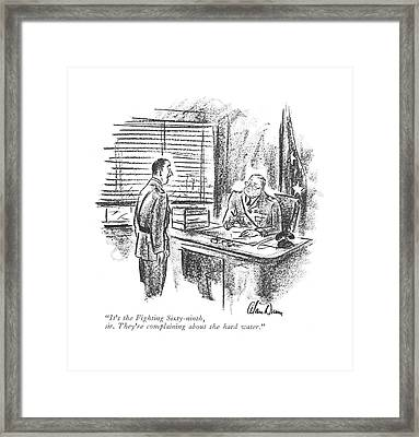 It's The Fighting Sixty-ninth Framed Print