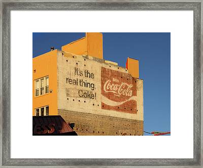 Its The Real Thing Framed Print by Viktor Savchenko