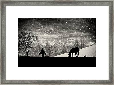 It's Time To Go Framed Print by Vito Guarino