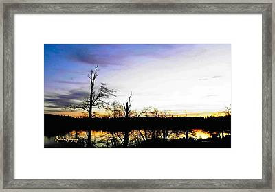 Framed Print featuring the photograph It's Twilight Time by Sadie Reneau