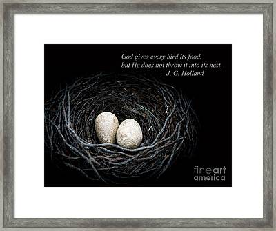 Its Up To You Framed Print by Edward Fielding