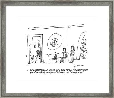 It's Very Important That You Try Framed Print by Michael Maslin