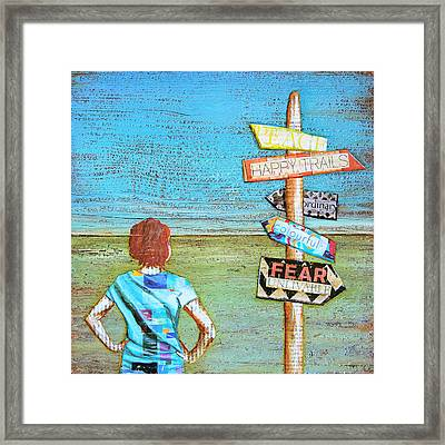 It's Your Choice Framed Print by Danny Phillips