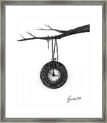 Its Your Time Framed Print by J Ferwerda