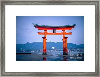 Itsukushima Shrine Framed Print