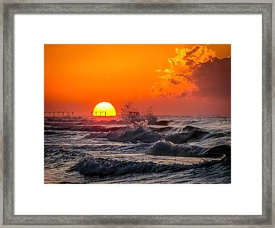 Ivan Was Here Framed Print by CarolLMiller Photography