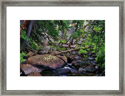 Framed Print featuring the photograph Ivanhoe Serenity by Jeremy Rhoades