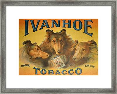 Ivanhoe Tobacco - The American Dream Framed Print by Christine Till