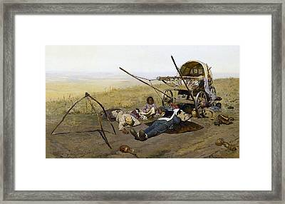 Ivanov, Sergei Vasilievich 1864-1910 Framed Print by Everett