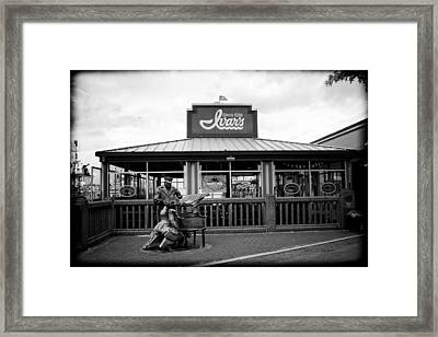 Ivar's On The Waterfront Framed Print by Tanya Harrison