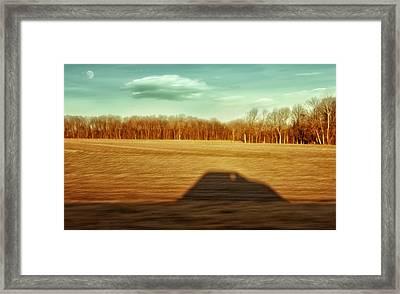 I've Been Everywhere Man Framed Print by Steven Michael