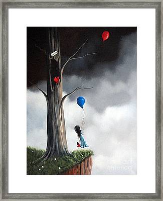 I've Been Waiting For You By Shawna Erback Framed Print by Shawna Erback