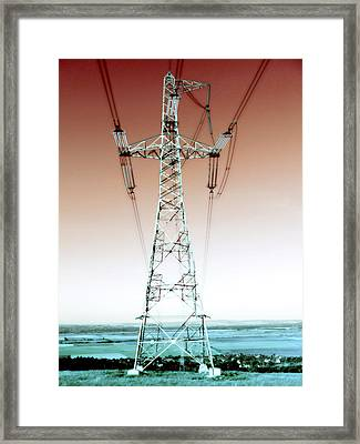 I've Got The Power Framed Print by Marianna Mills