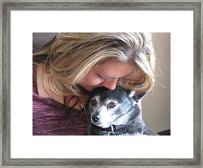 I've Missed You Framed Print