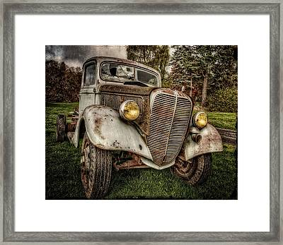 I've Seen Better Days Framed Print