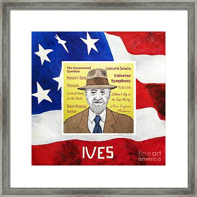 Ives Framed Print by Paul Helm