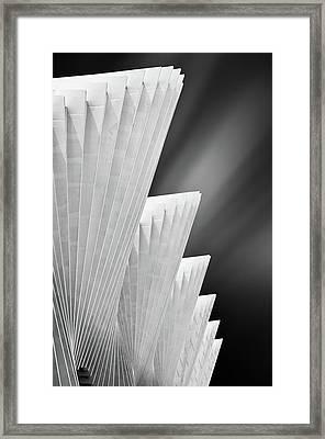 Ivory Gates Framed Print