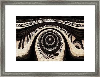 Ivory Framed Print by Jack Zulli