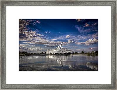 Ivory Tower Of Knowledge  Framed Print