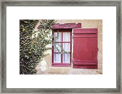 Ivy And Wine Framed Print by Melanie Alexandra Price