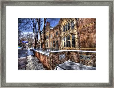 Ivy Day - Locust Walk - Upenn Framed Print by Mark Ayzenberg
