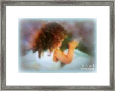Ivy Rose  Spring's Child Framed Print