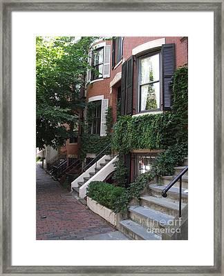 Ivy Walls Framed Print
