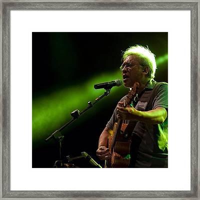 Iwan Fals #musician #legend #stage Framed Print