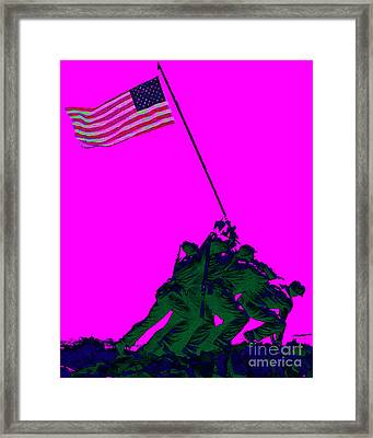 Iwo Jima 20130210 Framed Print by Wingsdomain Art and Photography