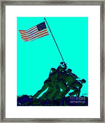 Iwo Jima 20130210m128 Framed Print by Wingsdomain Art and Photography