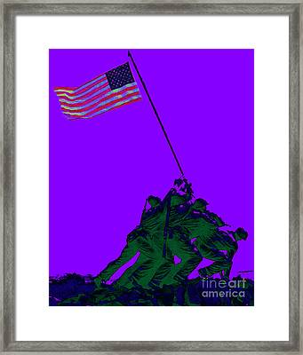 Iwo Jima 20130210m28 Framed Print by Wingsdomain Art and Photography