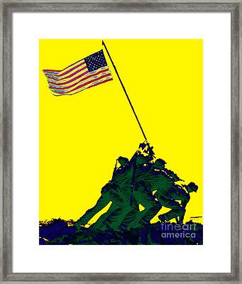 Iwo Jima 20130210p118 Framed Print by Wingsdomain Art and Photography