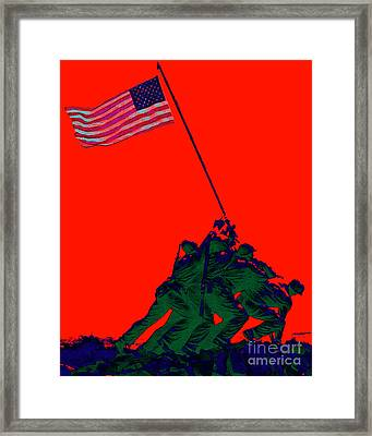 Iwo Jima 20130210p65 Framed Print by Wingsdomain Art and Photography