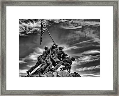 Iwo Jima Framed Print by Boyd Alexander