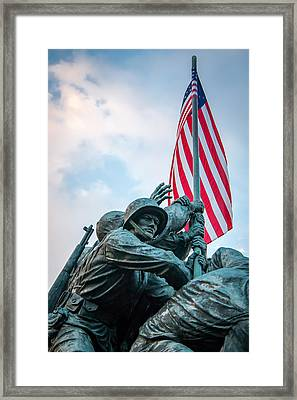 Iwo Jima Forward Framed Print