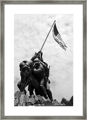 Iwo Jima Memorial Washington Dc Framed Print