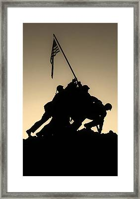 Iwo Framed Print by Robert Geary