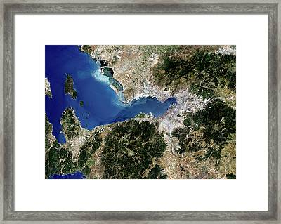 Izmir Framed Print by Planetobserver/science Photo Library
