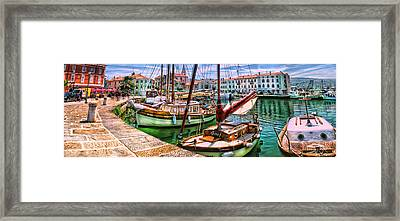 Izola Impressionist Framed Print