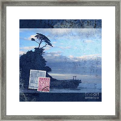 Izu Framed Print