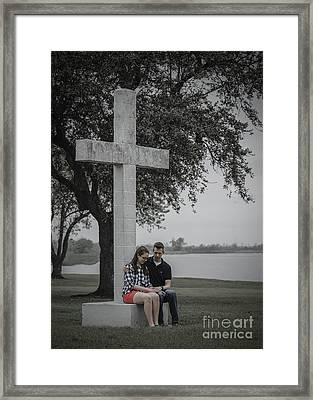 J And M Framed Print