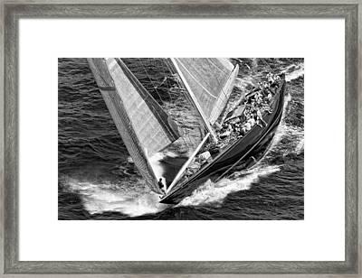 J Boat Framed Print