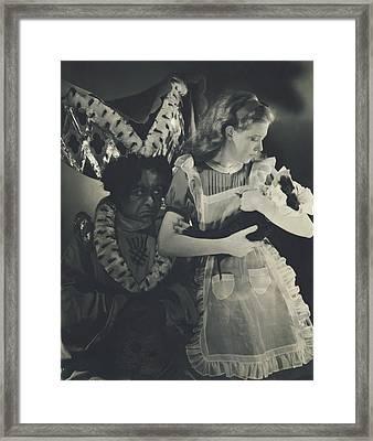 J. Edward Roomberg And Josephine Hutchinson Framed Print