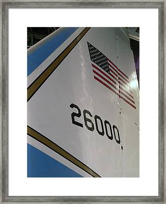 J F K Air Force One - 50 Years Ago Framed Print by David Bearden