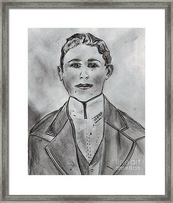 John Henry Framed Print
