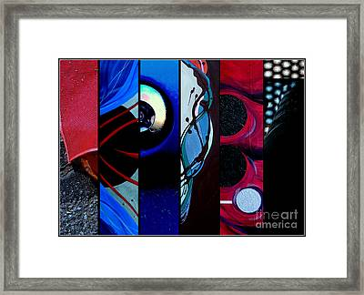 j HOT 27 Framed Print by Marlene Burns