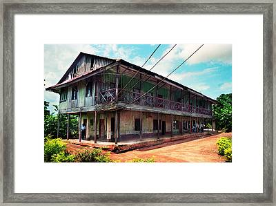 Mungo Park House Framed Print